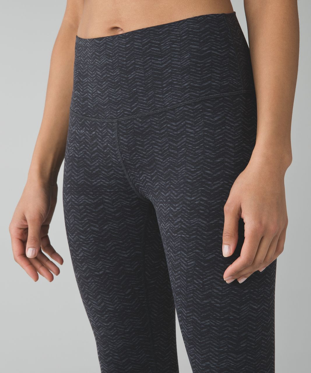 Lululemon High Times Pant - Irregular Spacebone Deep Coal Black