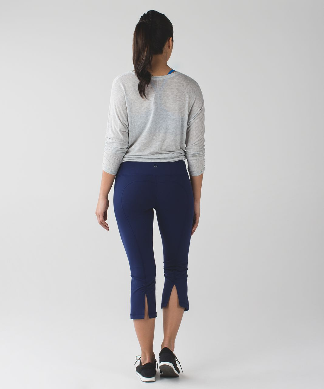 Lululemon Gather & Crow Crop II *Full-On Luon - Hero Blue