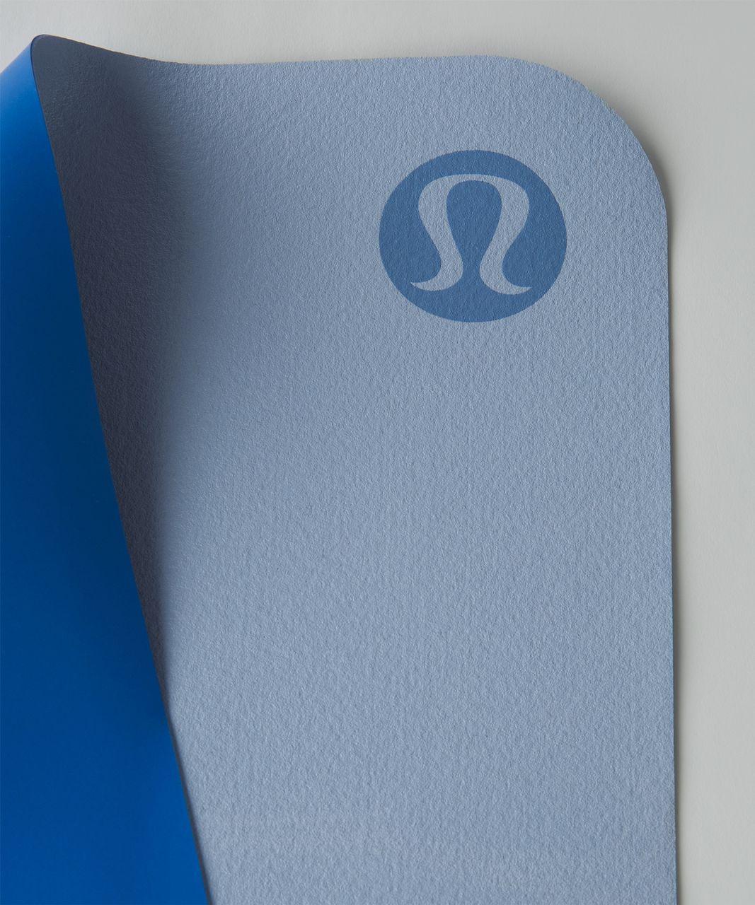 Lululemon The Reversible (Un) Mat *Lightweight Travel - Porcelaine / Chalk