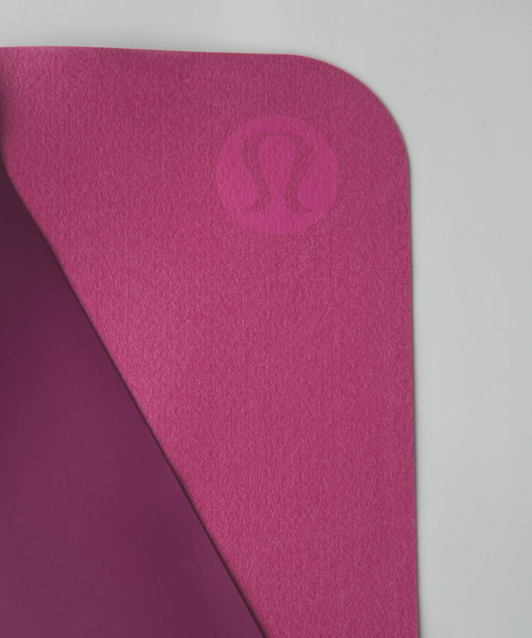 Lululemon The Reversible (Un) Mat *Lightweight Travel - Regal Plum / Pink Paradise