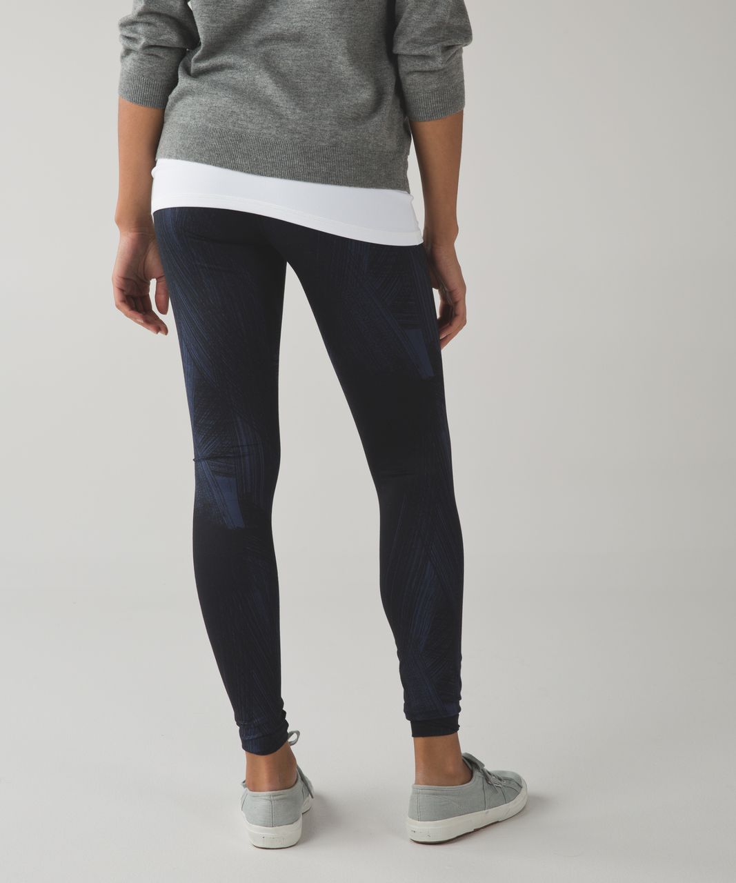Lululemon Wunder Under Pant III *Full-On Luon - Wind Chill Deep Navy Black / Deep Navy