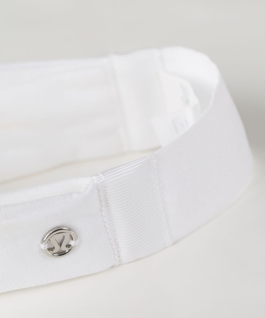 Lululemon Fringe Fighter Headband - White / White / Silver