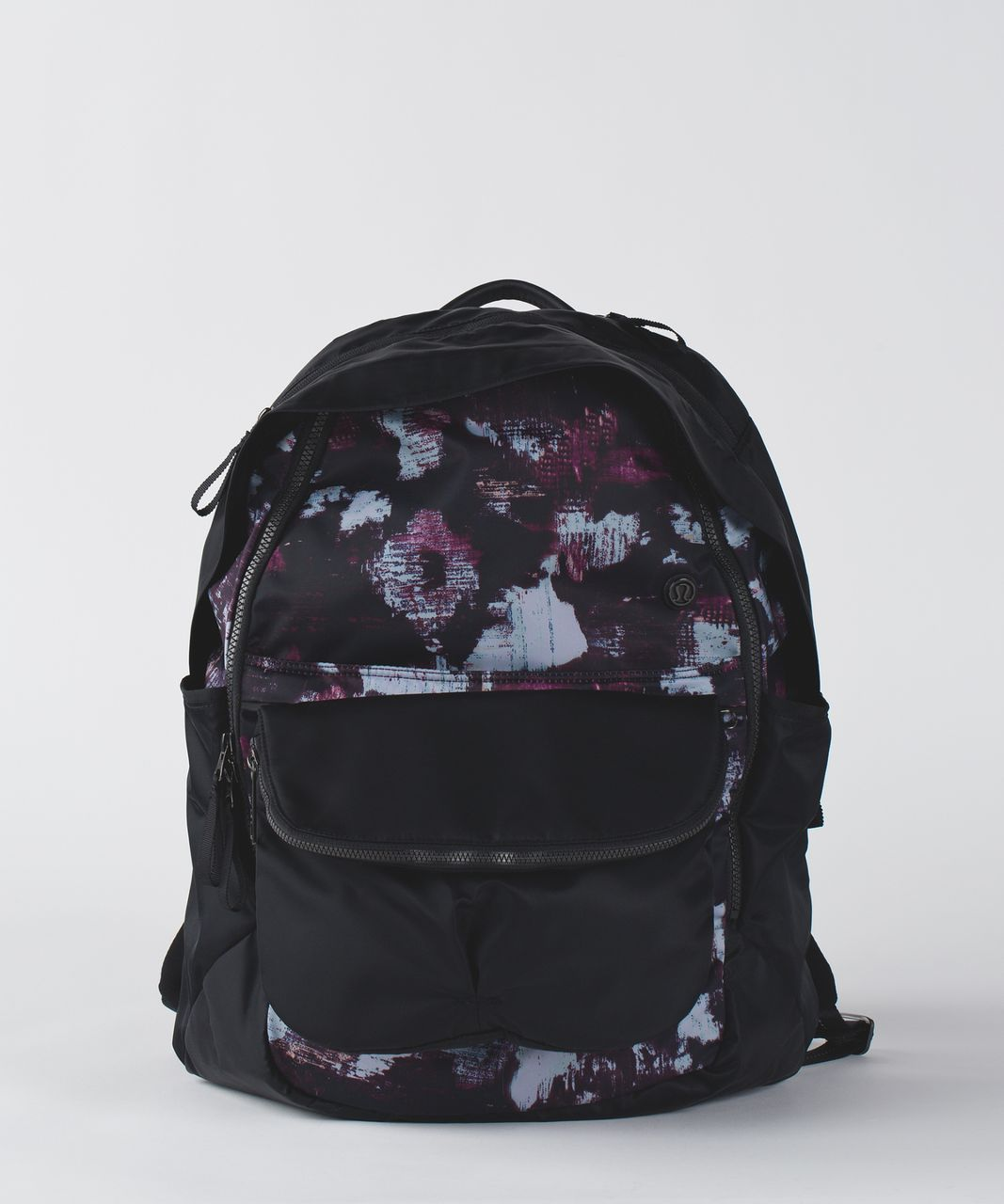 Lululemon All Day Backpack - Kara Blossom Multi / Black