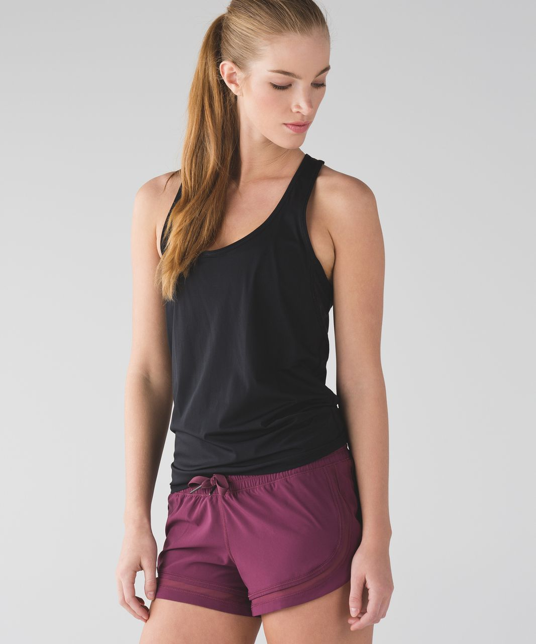 Lululemon Make A Move Short - Red Grape