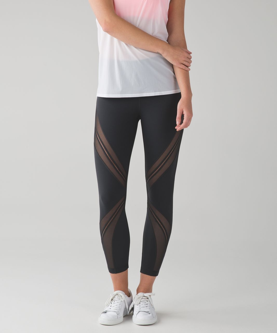 Lululemon High Times Pant (Metta) *Full-On Luxtreme - Cyber Stripe Deep Coal Black