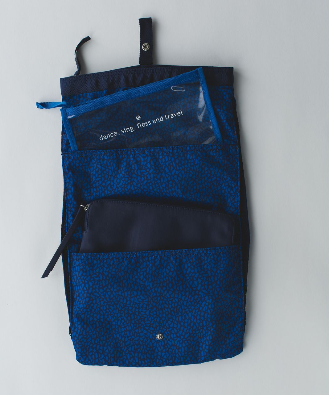 Lululemon Sweaty Or Not Kit - Miss Mosaic Lakeside Blue Hero Blue / Hero Blue