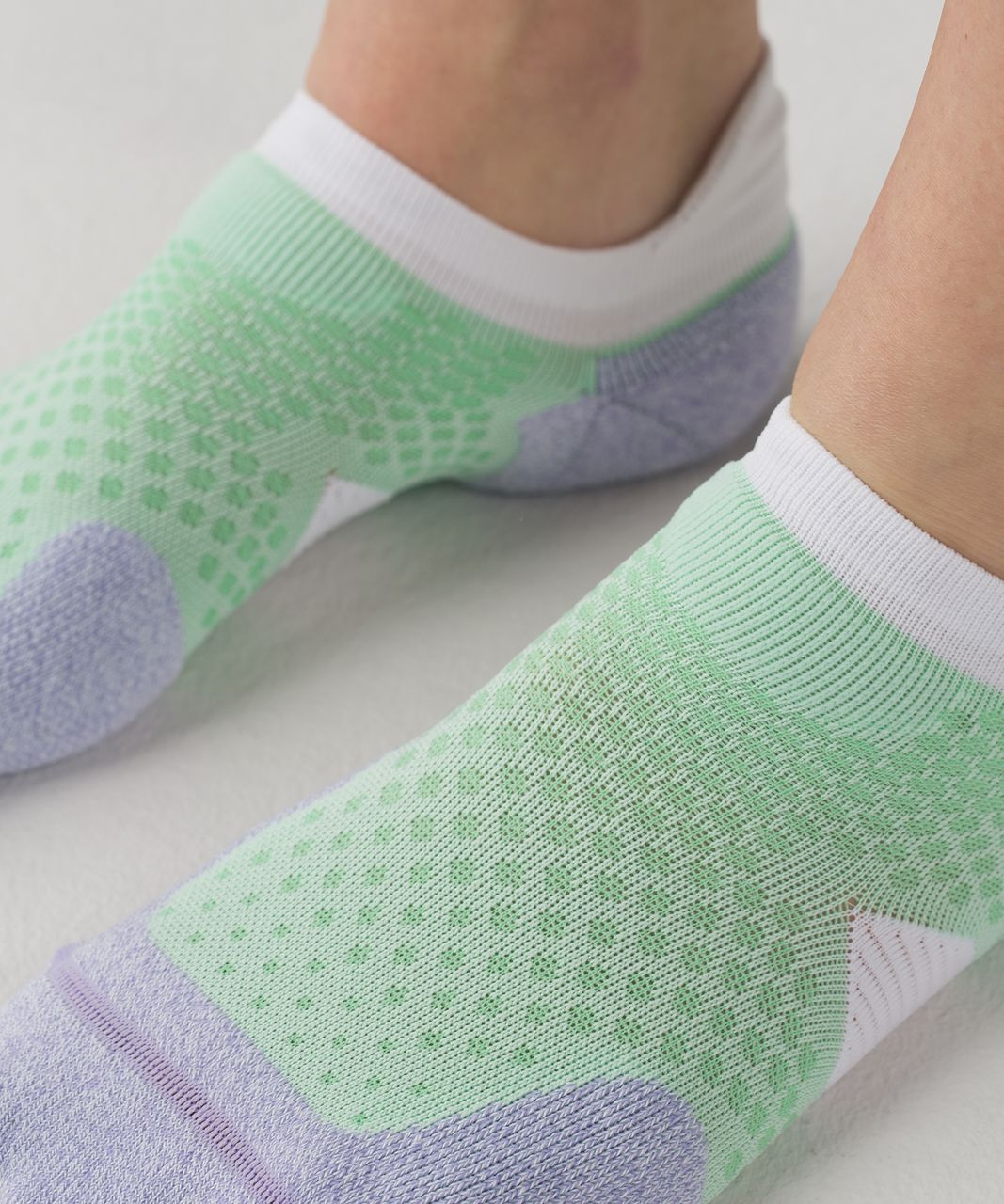 Lululemon High Speed Sock - Sea Mist / Lilac / Dragonfly
