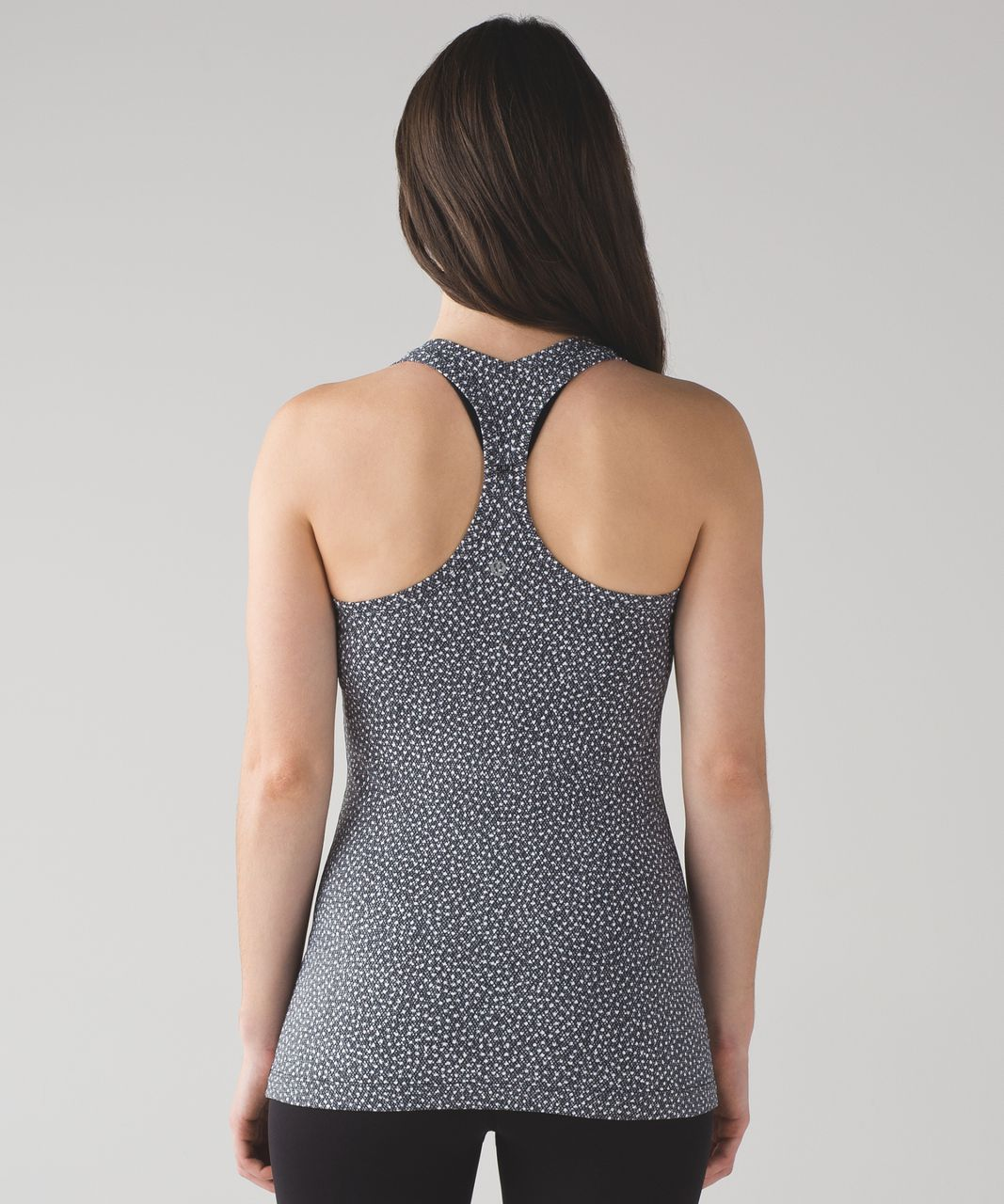 Lululemon Cool Racerback II - Frozen Fizz White Black