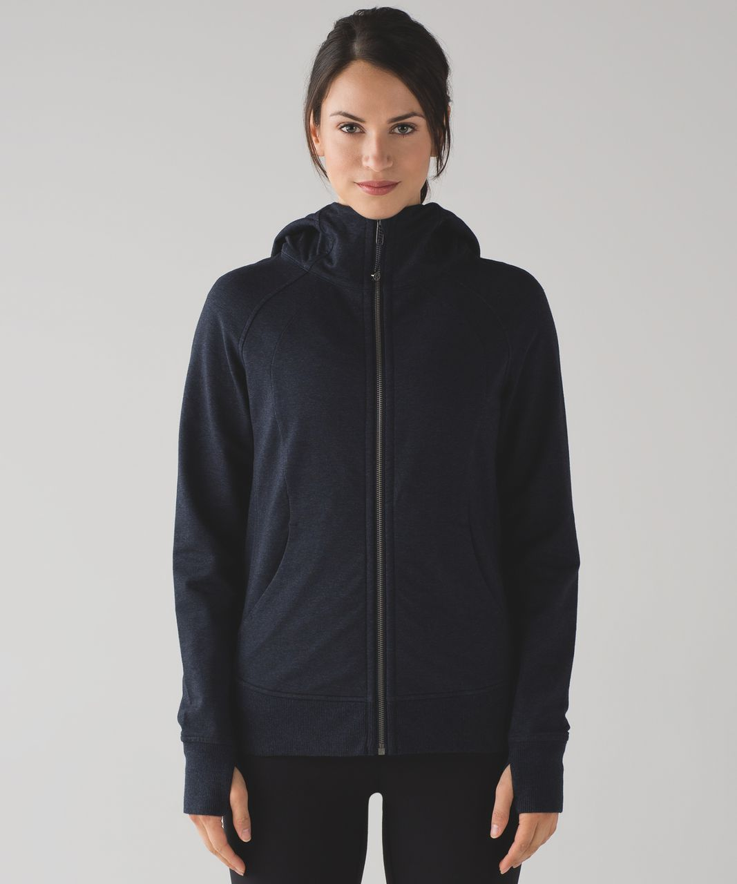Lululemon Scuba Hoodie IV (Terry) - Heathered Naval Blue