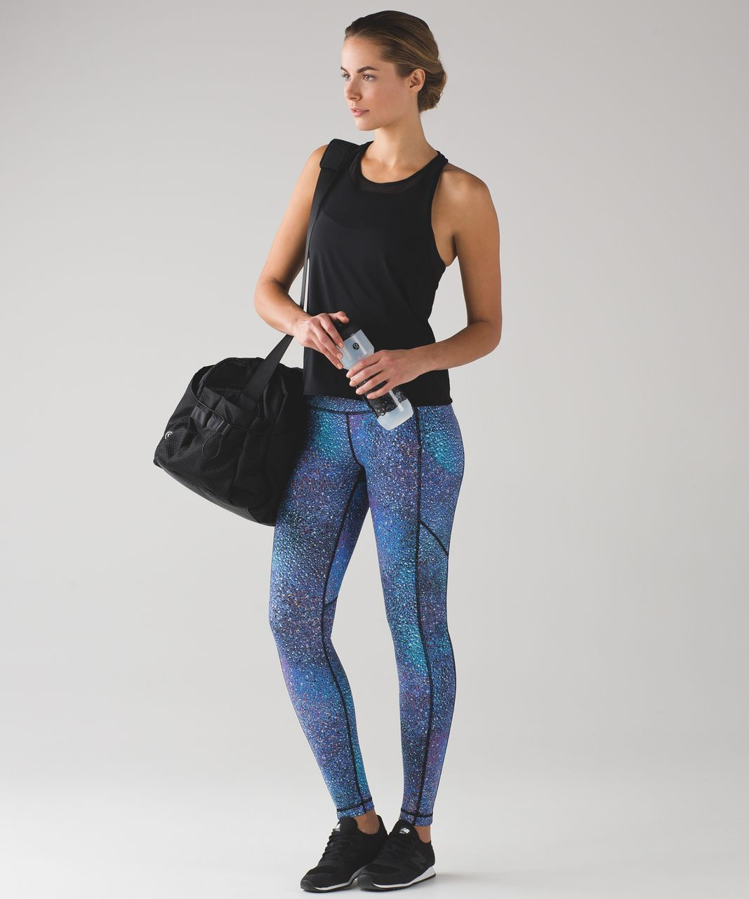 Lululemon Speed Tight V - Strive Multi Black