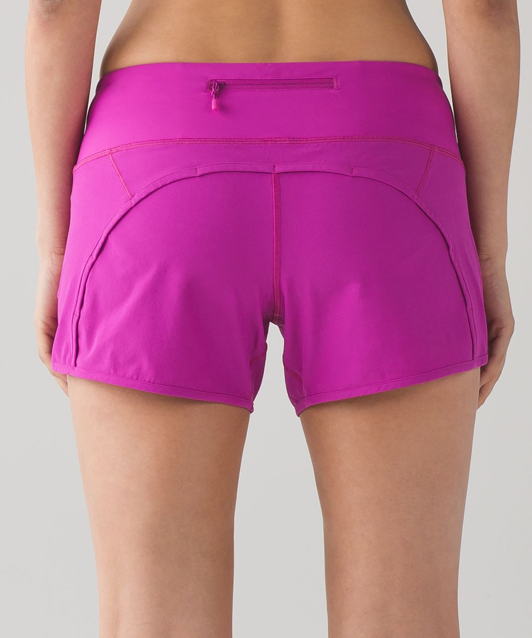 "Lululemon Run Times Short (4-way Stretch 4"") - Polar Pink"