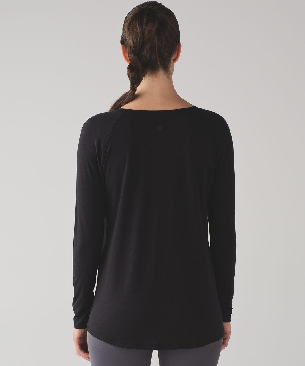Lululemon Emerald Long Sleeve - Black (First Release)