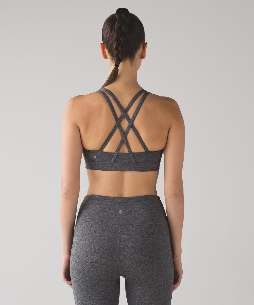 2beda1a91b Lululemon Energy Bra - Heathered Black - lulu fanatics