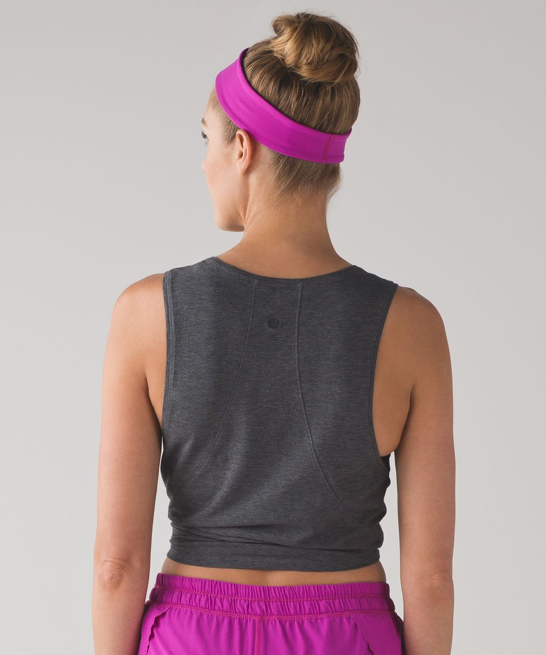 Lululemon Fly Away Tamer Headband II - Polar Pink