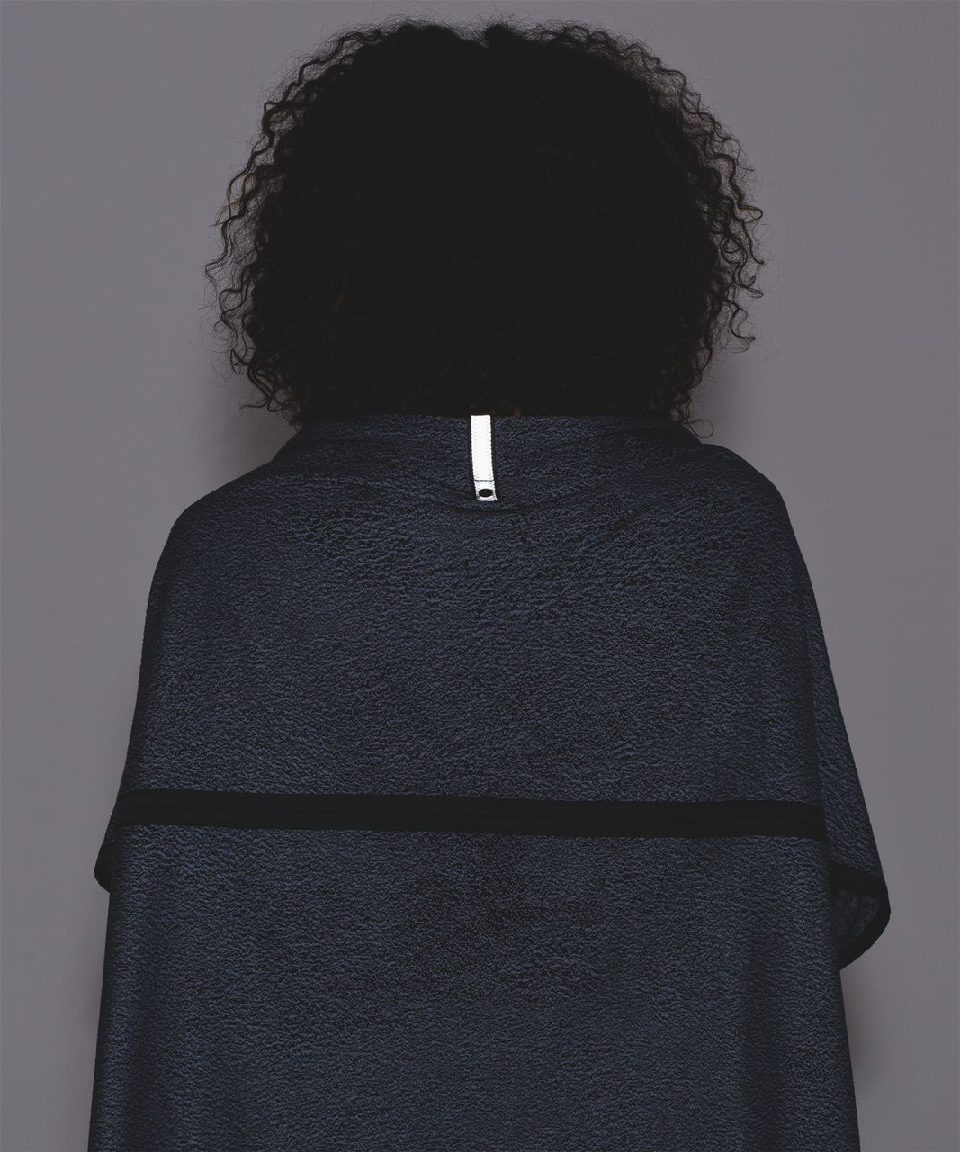 Lululemon Vinyasa Wrap - Running Luon Spray Jacquard Blue Denim Black / Black