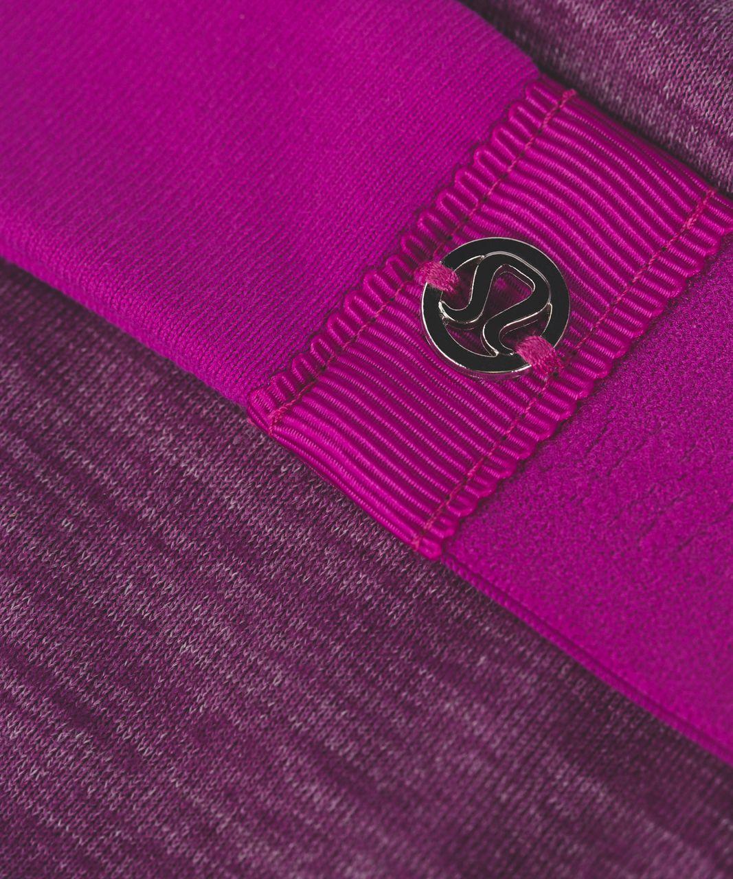 Lululemon Fringe Fighter Headband - Polar Pink / Heathered Aurora