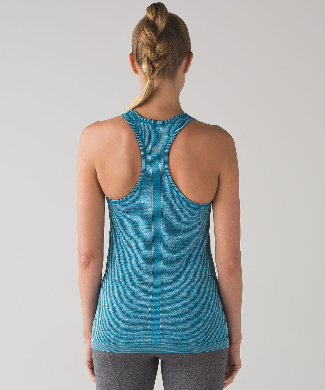 Lululemon Swiftly Tech Racerback - Indian Ocean / Black