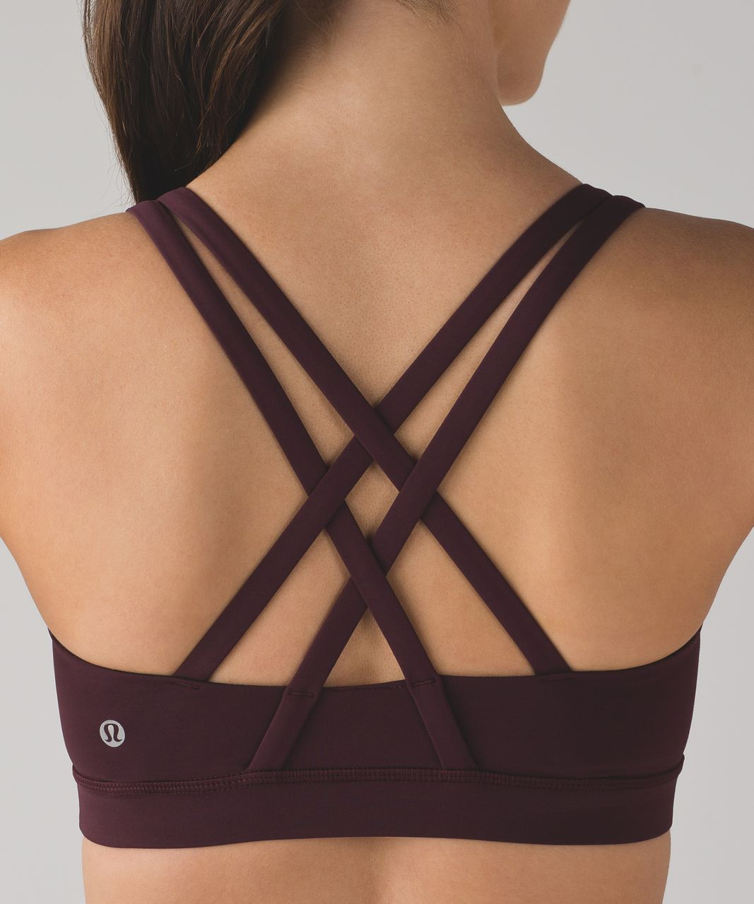 Lululemon Energy Bra - Bordeaux Drama