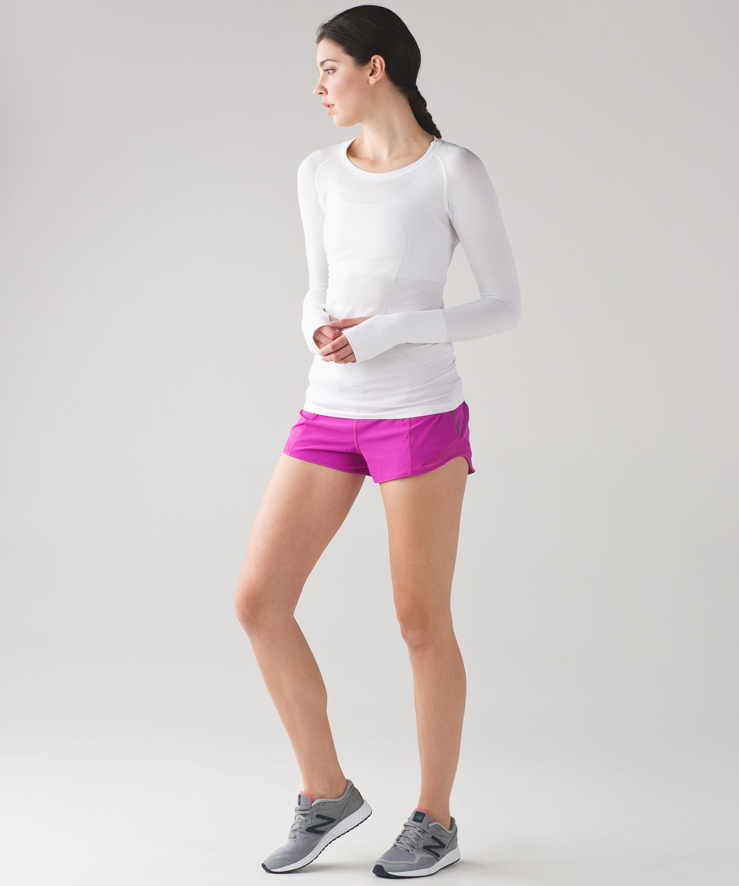 "Lululemon Hotty Hot Short (2 1/2"") - Polar Pink"