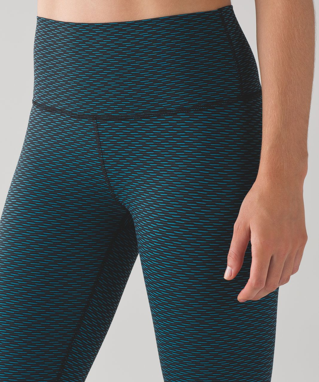 Lululemon High Times Pant (Luxtreme) - Score Jacquard Black Indian Ocean