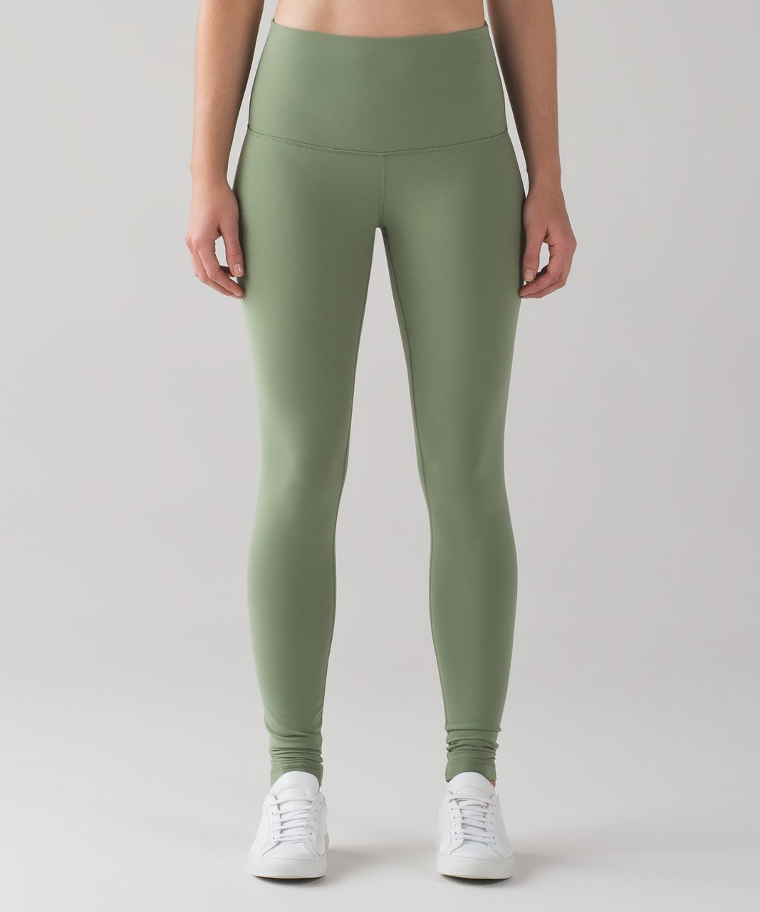 Lululemon Wunder Under Pant (Hi-Rise) (Full-On Luon) - Desert Olive