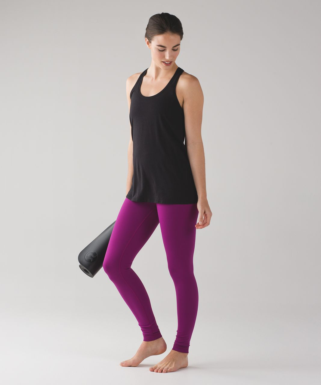 Lululemon Wunder Under Pant (Hi-Rise) (Full-On Luon) - Regal Plum