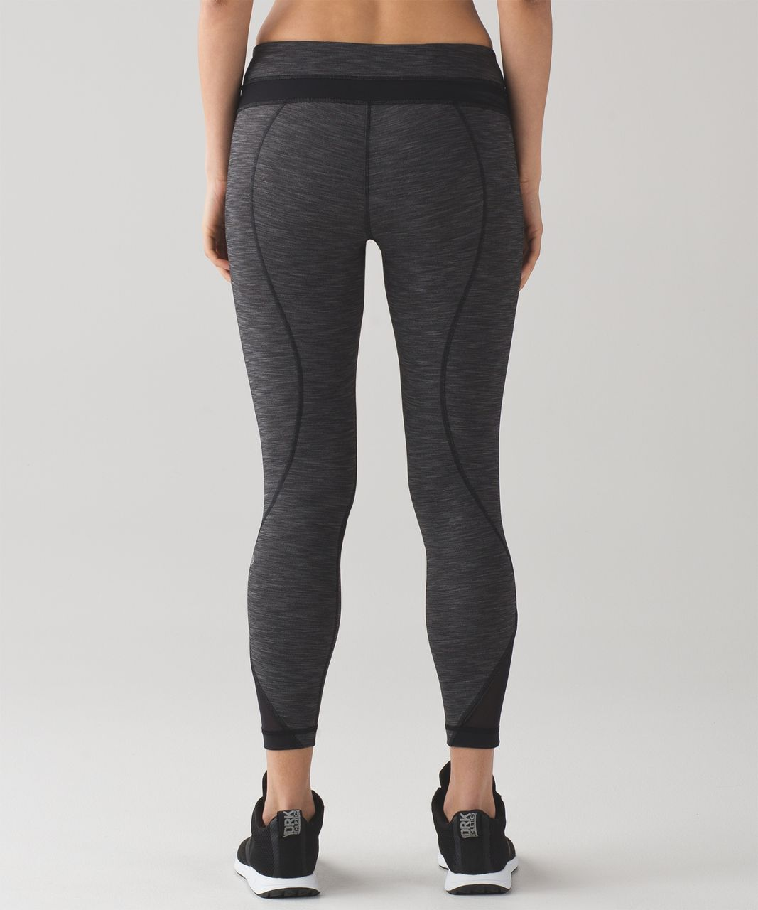 2e61a9ad20 Lululemon Inspire Tight II - Heathered Black / Heathered Black ...