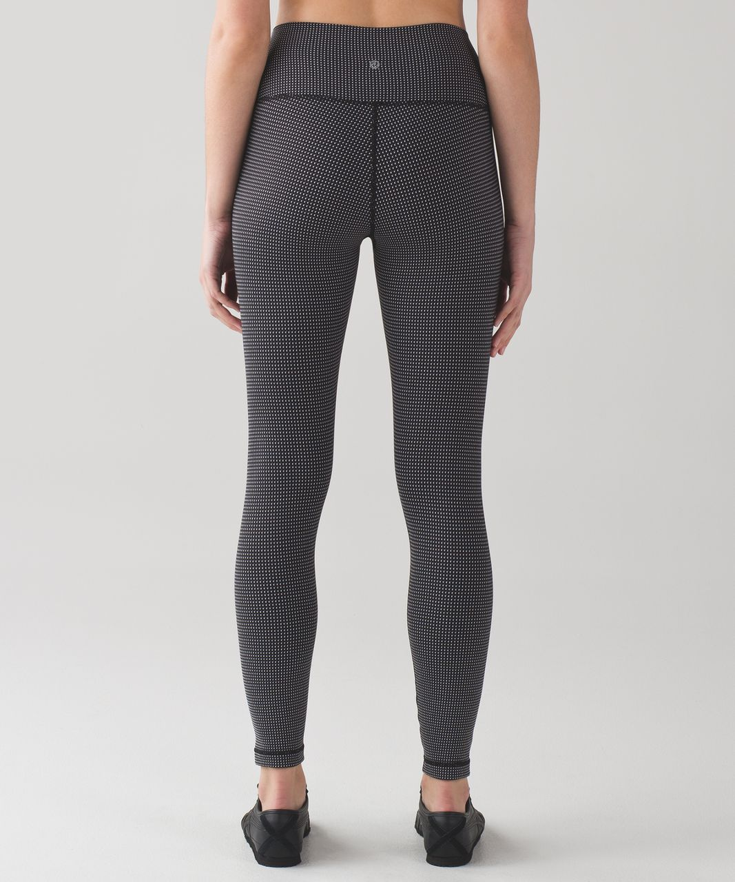 Lululemon High Times Pant - Teeny Check White Black