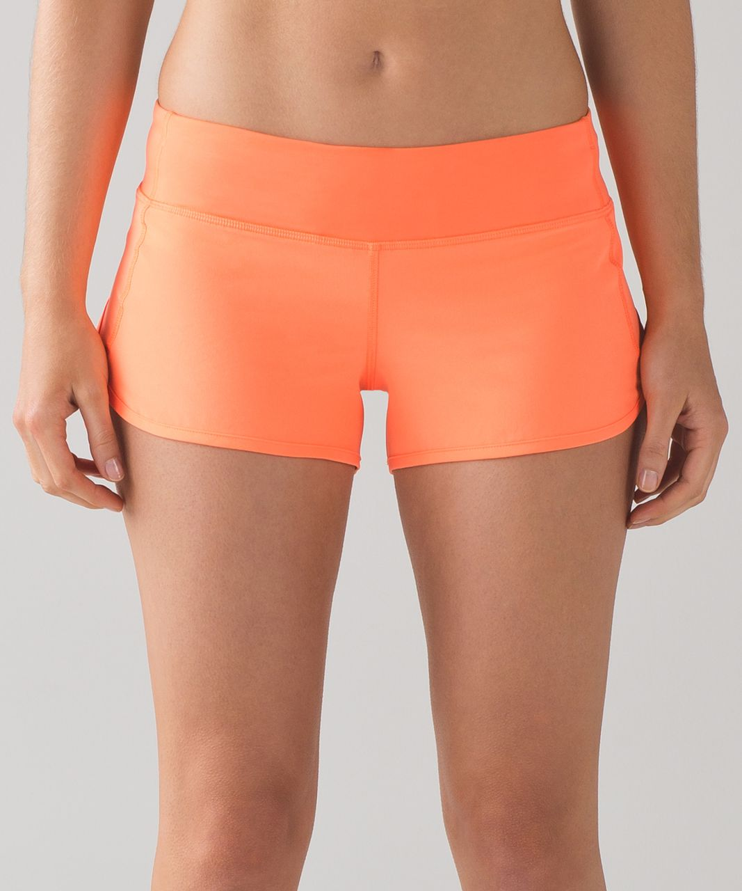 "Lululemon Speed Short (4-way Stretch 2 1/2"") - Filtered Orange"