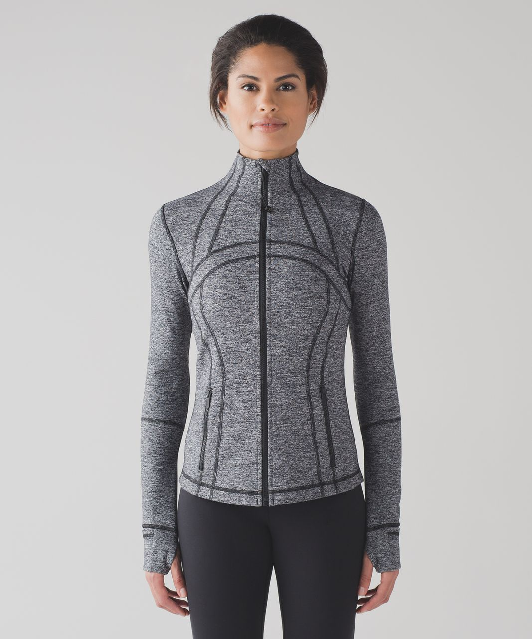 Lululemon Define Jacket - Heathered Black (First Release)