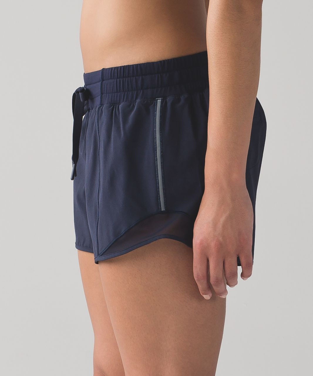 "Lululemon Hotty Hot Short (Long 4"") - Midnight Navy"