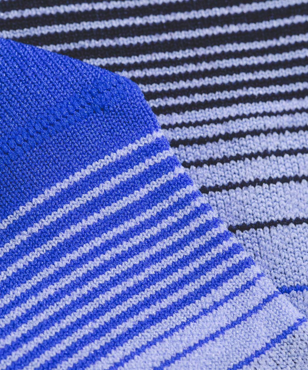 Lululemon Play All Day Sock - Blazer Blue / Hydrangea Blue / Midnight Navy