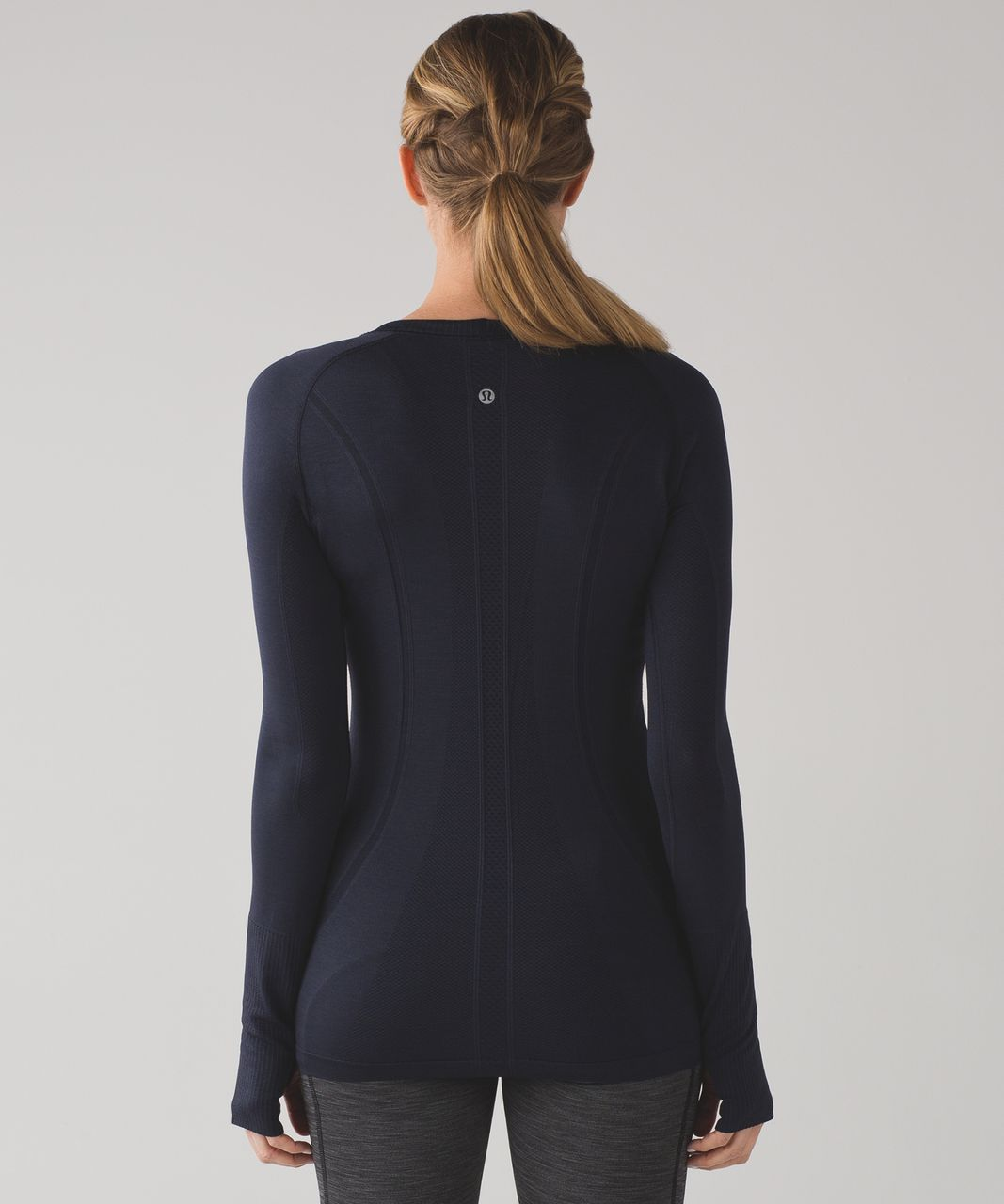 Lululemon Swiftly Tech Long Sleeve Crew - Midnight Navy / Midnight Navy