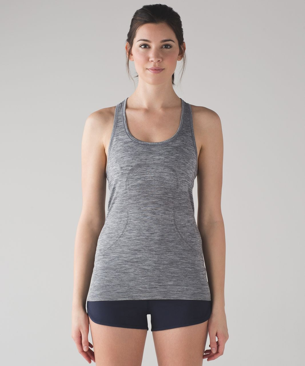 Lululemon Swiftly Tech Racerback - Slate / White