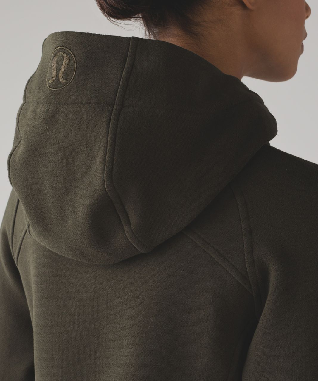 Lululemon Scuba Hoodie *Light Cotton Fleece - Dark Olive (First Release)