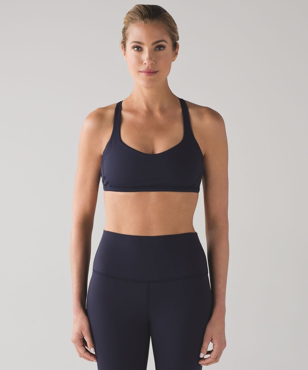c825d73ba6 Lululemon Free To Be Zen Bra - Midnight Navy - lulu fanatics