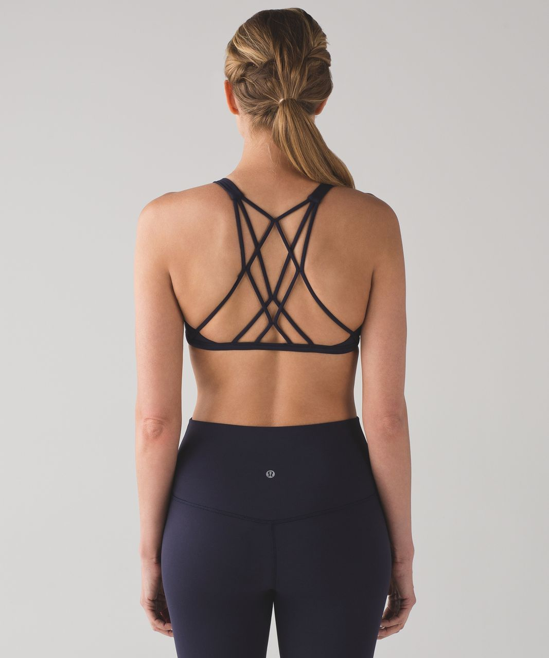 Lululemon Free To Be Zen Bra - Midnight Navy