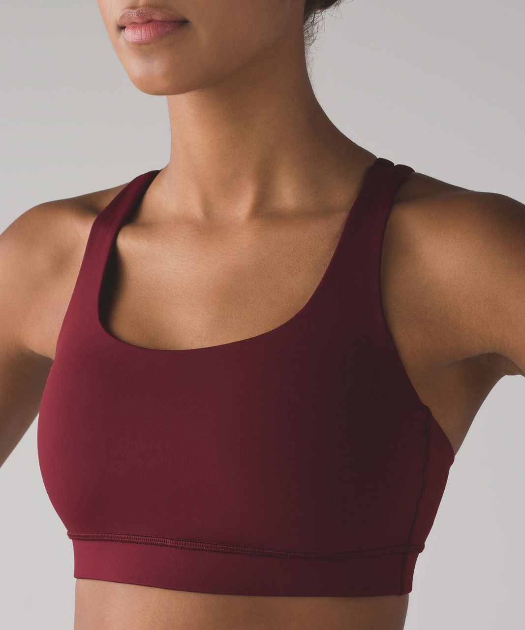 Lululemon Energy Bra - Deep Rouge