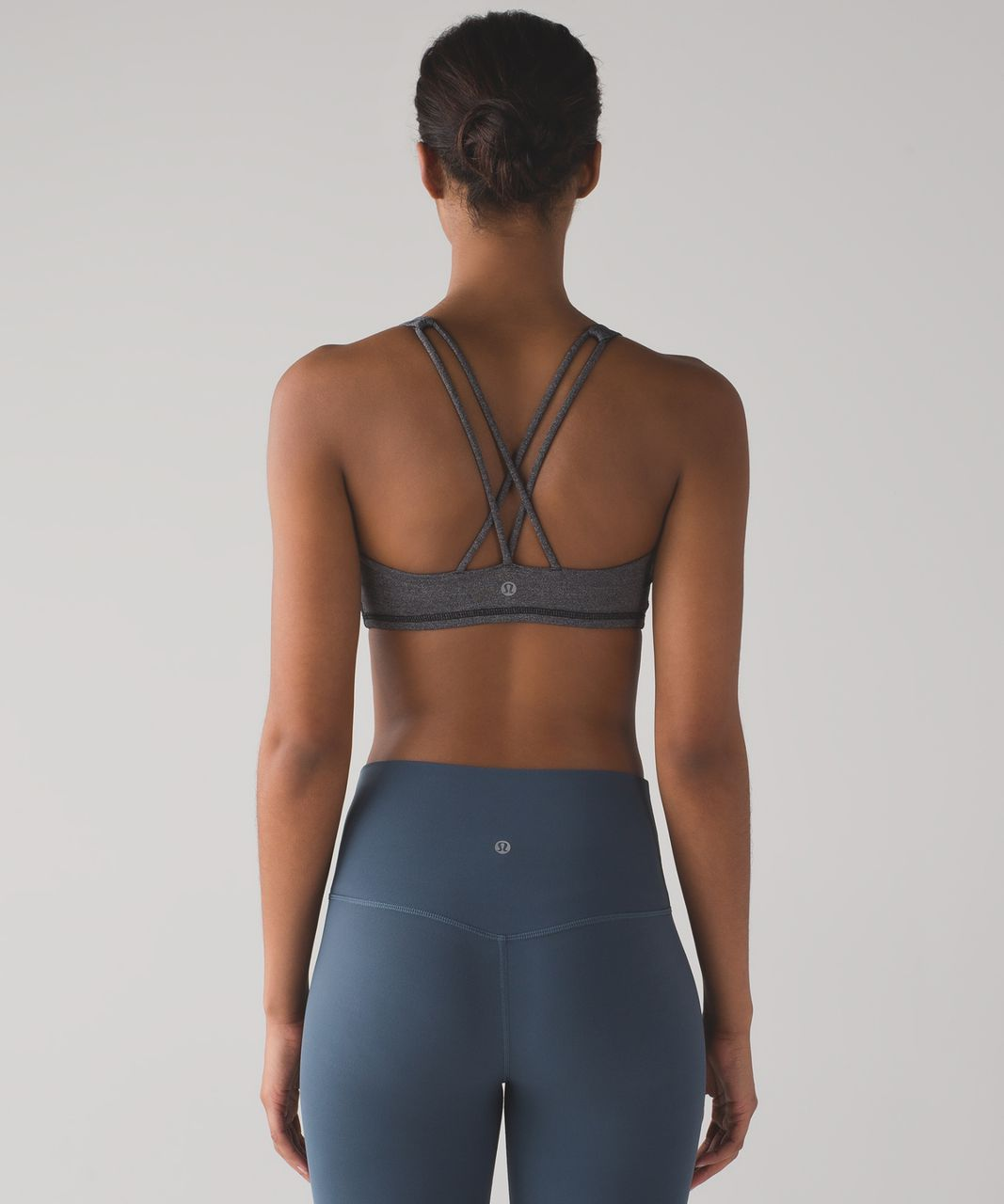 Lululemon Free To Be Bra - Heathered Black