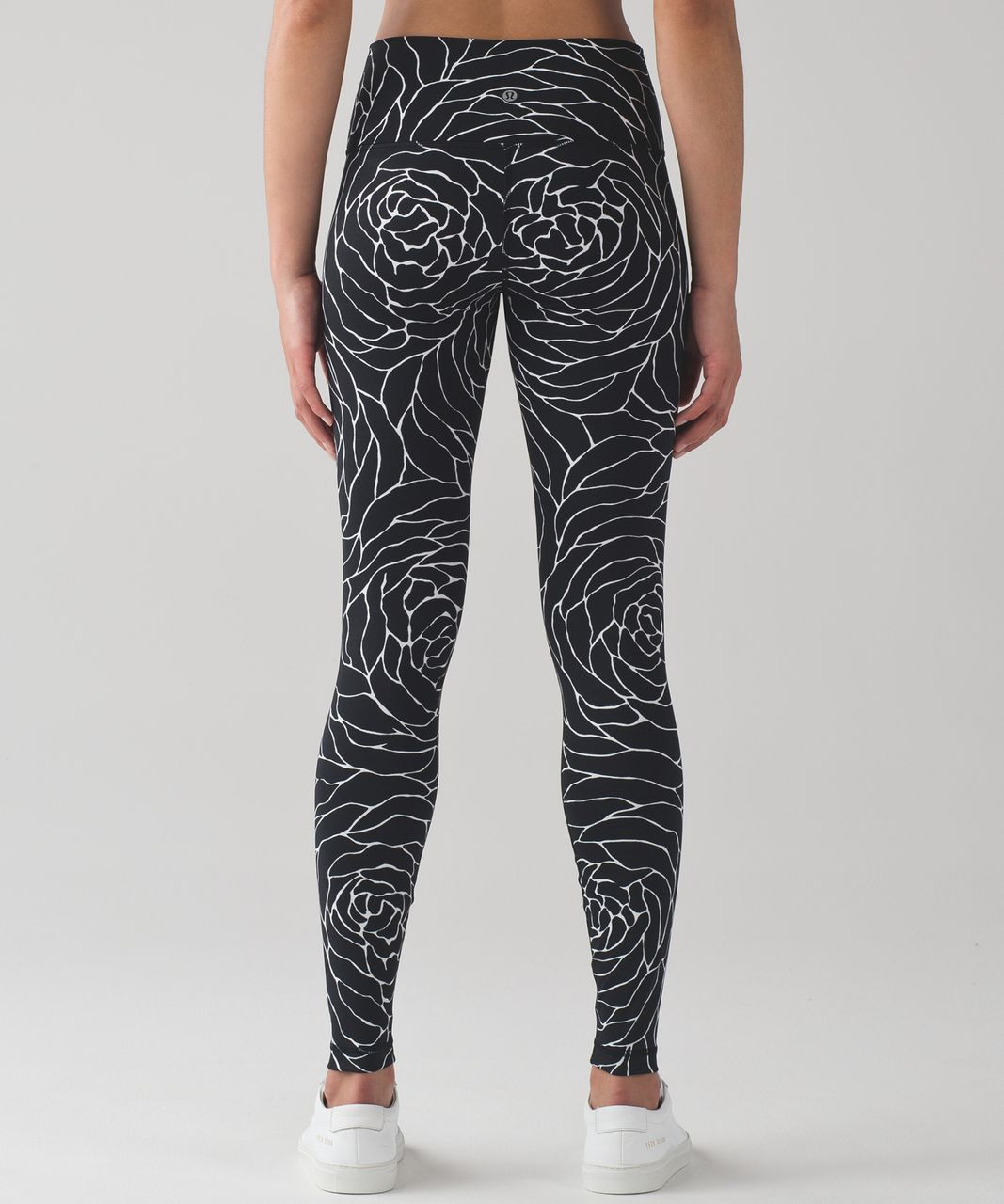 Lululemon Wunder Under Hi-Rise Tight (Full-On Luxtreme) - Radiate Rose Alpine White Black