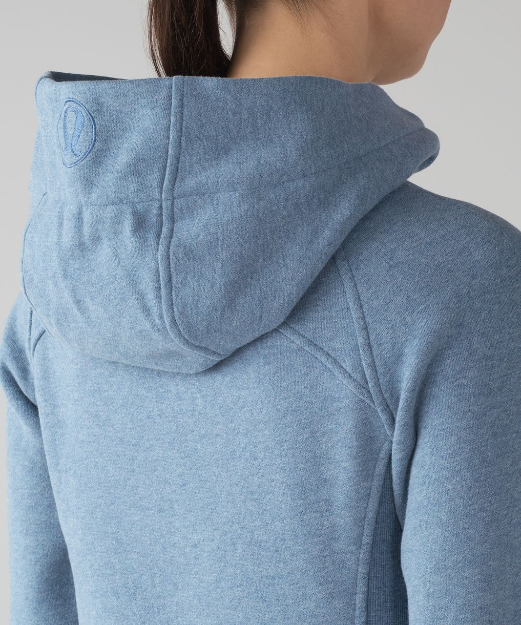 Lululemon Scuba Hoodie *Light Cotton Fleece - Heathered Illuminight / Illuminight