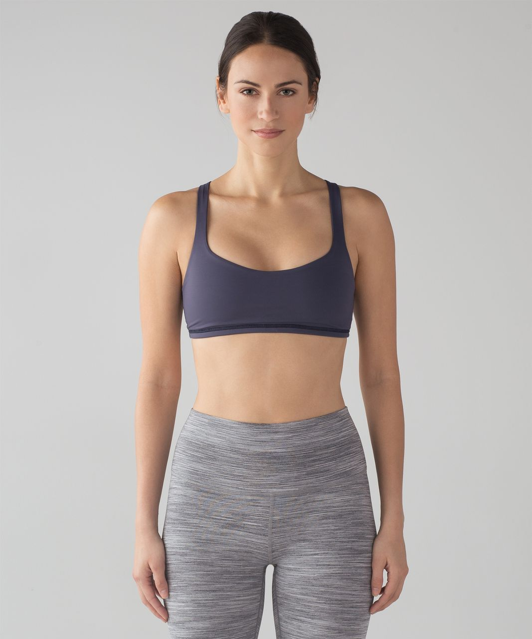 Lululemon Free To Be Bra - Cadet Blue