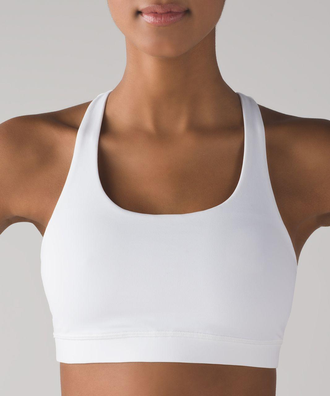 Lululemon Invigorate Bra - White