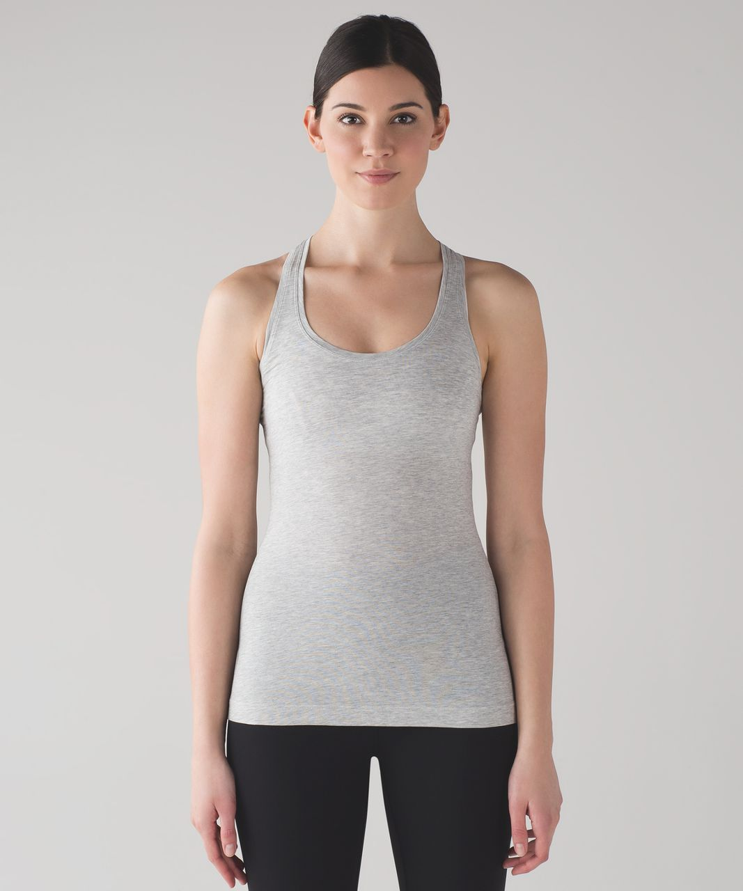Lululemon Cool Racerback II (Pima) - Heathered Vapor