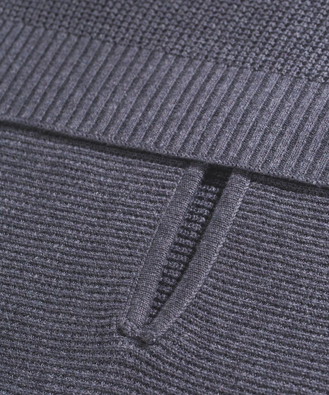 Lululemon Forward Flow Cape - Heathered Dark Carbon
