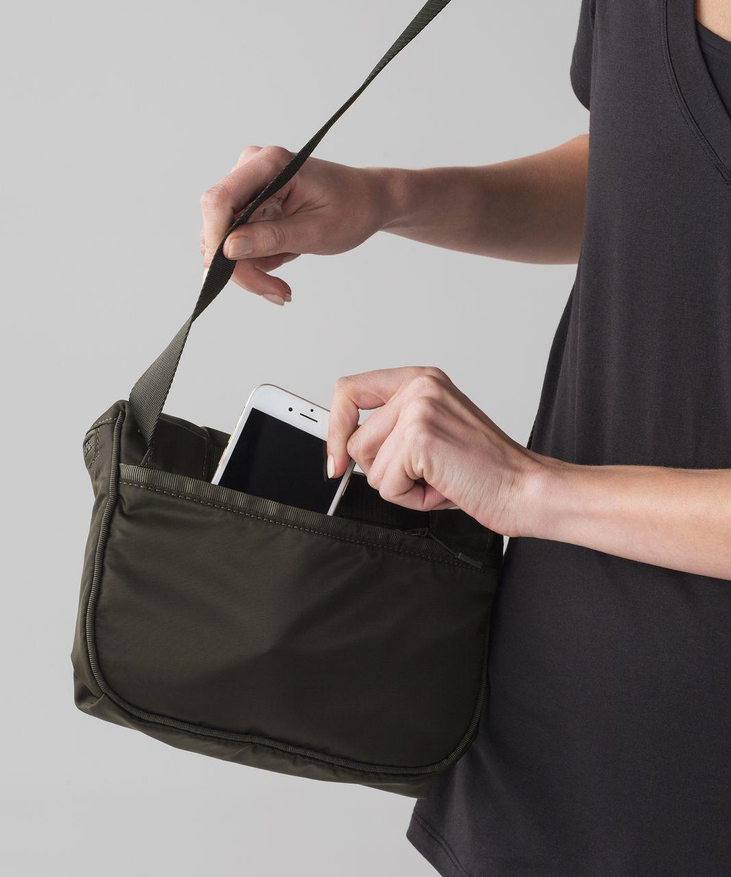Lululemon Go Lightly Belt Bag Dark Olive Lulu Fanatics