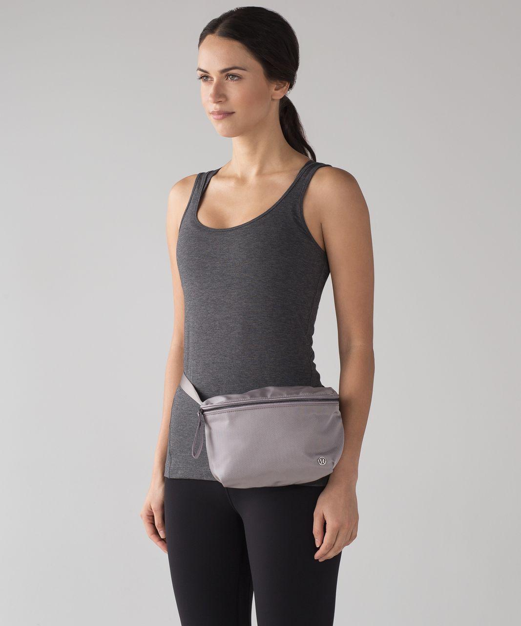 Lululemon Go Lightly Belt Bag Dark Chrome Lulu Fanatics
