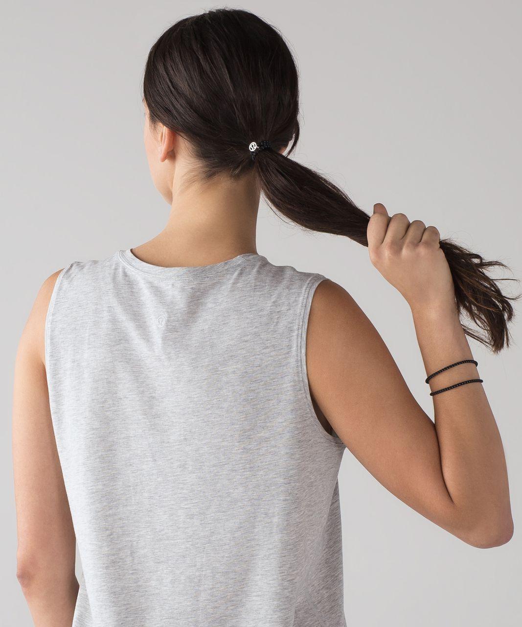 Lululemon Glow On Hair Ties - Black