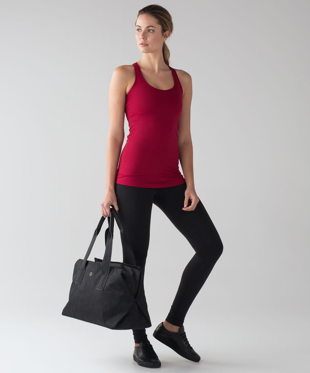 Lululemon Cool Racerback - Cranberry
