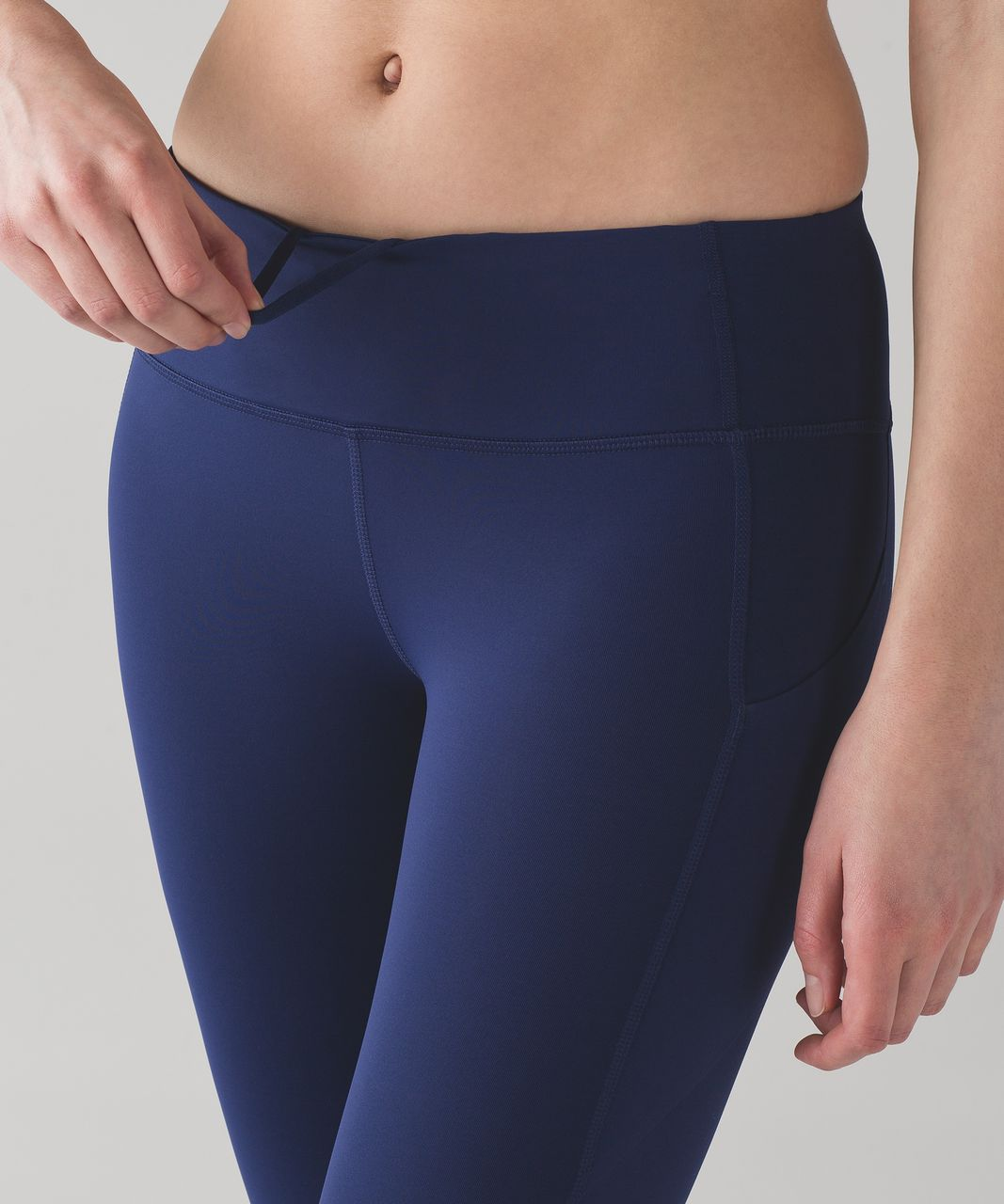 "Lululemon Pace Rival Crop (22"") - Blueberry Jam"